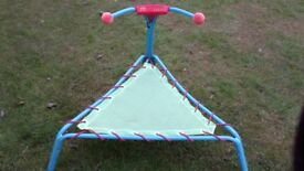 Childs trampoline 3ftx3ft canvas