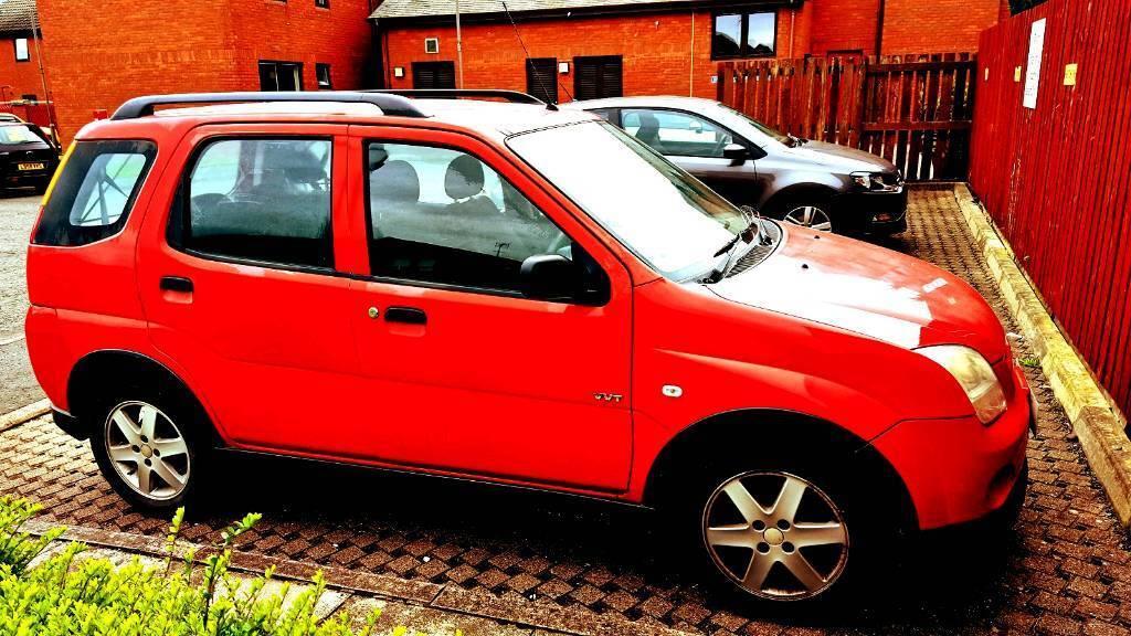 Suzuki ignis VVT 1.5 2005 plate.