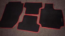 Renault Clio RS floor mats
