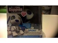 Zoomer Zuppies Zuppy love sport blue robot dog personal puppy new boxed