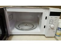 Tesco microwave oven bought £45 less than a year ago is in excellent condition hardly used at all.