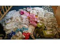 Reusable Cloth Nappies 124 items 60p each!