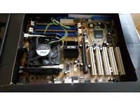 Motherboard - Processor - Memory - Graphics Card Bundle
