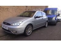 Ford Focus 2003 1.8 petrol spares or repair