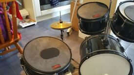 Rocket music junior 5 piece drum kit