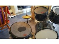 Rocket music junior 5 piece drum kit