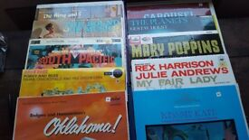 A set of 49 Musicals and Classical Vinyl LPs