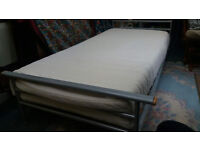 Great Modern Single Bed Frame and Memory Foam Mattress for Sale - Bargain £50