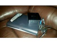 Sky HD box, Remote and Sky router