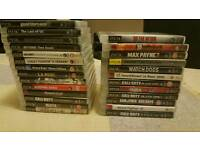 PS3 160gb + 27 games