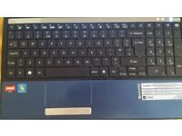 Laptop packard bell easy note tm 80