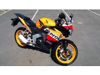 Honda CBR 125cc Repsol Motorbike