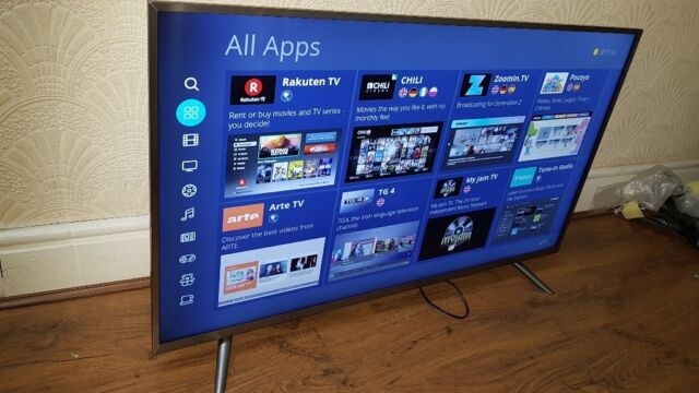 HISENSE 43-INCH 43N5500 SUPER SMART UHD 4K HDR TV,Wifi,Freeview & FREESAT  HD,SMART IPTV APP BUILT IN | in Salford, Manchester | Gumtree