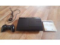 PlayStation 3 SUPERSLIM 500GB + Nino Kuni JRPG Game (Studio Ghibli) IMMACULATE