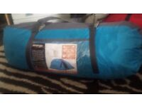 vango veletta 5 man decent quality only been used twice tent