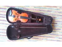 3/4 Sized Violin and Case