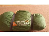 Almost new Vango Banshee 200 - Great little tent!