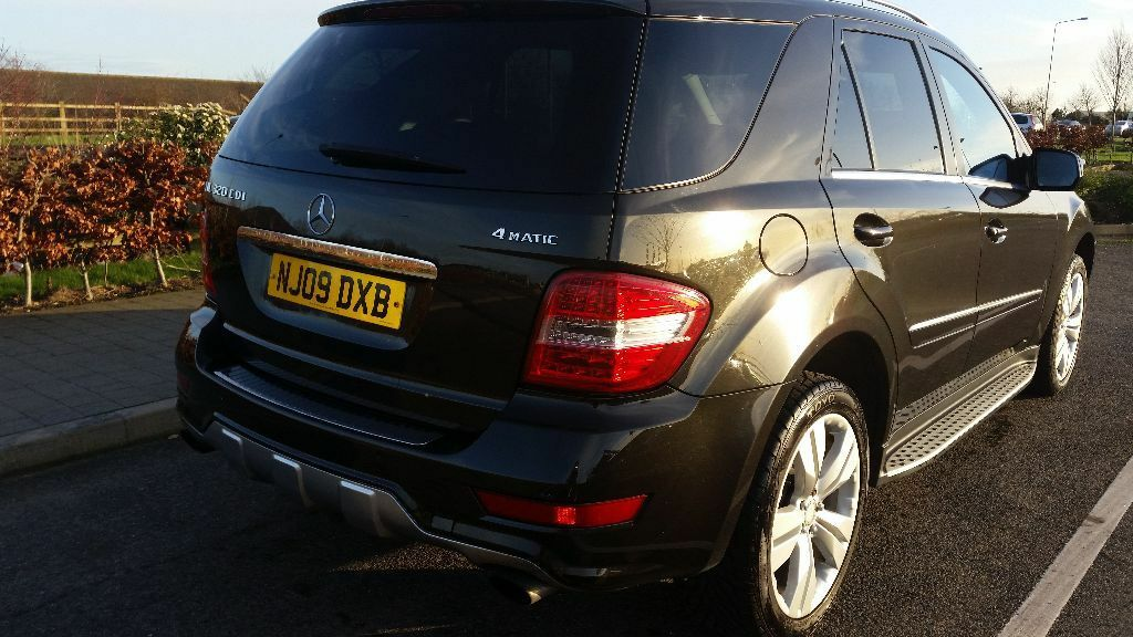 Mercedes benz m class 3 0 ml320 cdi amg styling pack for Mercedes benz peterborough
