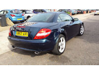 MERCEDES SLK 350 AUTO CONVERTIBLE 57 PLATE DR OWNED FUL MEREDES HISTORY IMMACULATE SAT -NAV