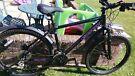 Ladies Carrera Kraken Mountain Bike- Black/Pink, Disc Brakes, Suspension.Superb condition Used Twice