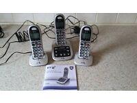 BT4500 Big button cordless telephone set