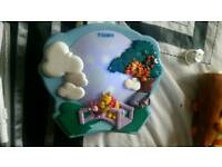 Disney wtp light up music cot toy toys