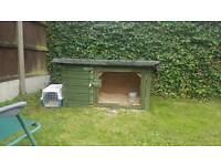 Rabbit/guinea pig/chicken coop hutch