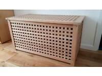 IKEA WOODEN CHEST