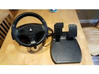 Ps3/4 steering wheel and pedals