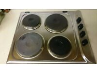 electric hob in very good condition