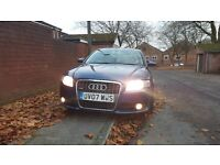 Audi A4 . Diesel.S line sports ..full leather seats .
