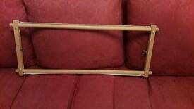 Tapestry / Embroidery Wooden Lap Frame In Excellent Condition