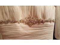 Victoria Jayne Ivory Dress **Never been worn** size 12