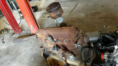 1948 CHEVROLET CORE ENGINE ASSEMBLY 6-CYLINDER 346629