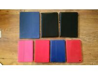 7 Assorted Tablet Cases / ALL FOR £5