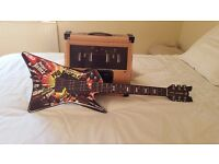 Paper jamz guitar and amplifier