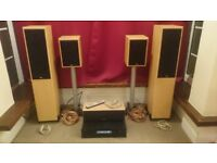 Cambridge Audio / TDL / Gale home cinema system