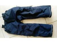 Waterproof insulated trousers