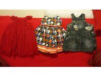 Girls age 12-18 months dress bundle