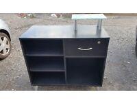 Black desk with drawer - Used