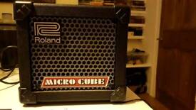 Roland micro cube modeling amp