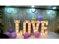 Wedding and Event decorations and chair covers