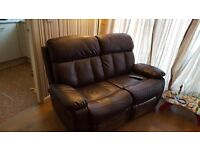 2 seater and 3 seater recliners