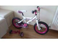 Avigo Dream Girls Bike (for 3-6 year old)