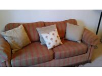 Three seat sofa for sale, very nice, well made , comfy and in good condition.