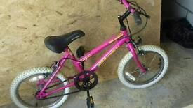 Girls bike good condition