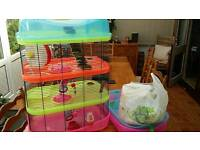 4 tier hamster cage