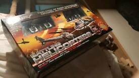 Twin pack radio controlled infrared action helicopters