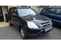 Honda CR-V I-VTEC SE SPORTS AUTOMATIC ESTATE,4x4,1973cc,5door, 2002,cheap car,hpi clear,must view!