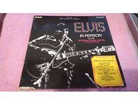 ELVIS PRESLEY- 8- CLASSIC VINYL ALBUMS-£5.00 EACH
